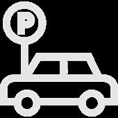 Ausreichend kostenfreie Parkplätze direkt vor der Praxis